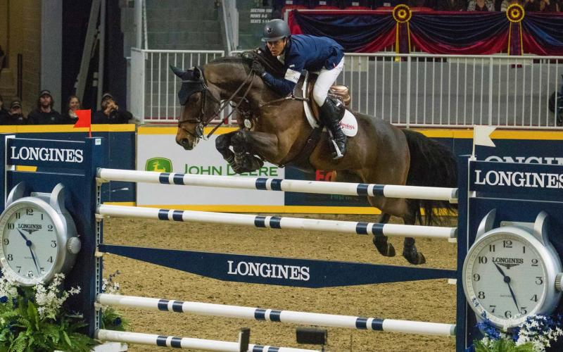 Longines FEI World Cup North American League - Toronto; Jumping; 2017