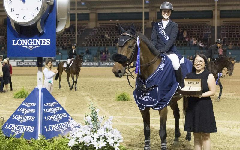 Longines FEI World Cup North American League; Del Mar; 2018; Jumping