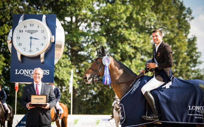 Longines FEI World Cup North American League; Johnstown; Jumping; 2018