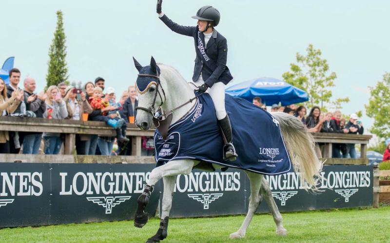 Longines FEI World Cup North American League - Langley; 2018; Jumping