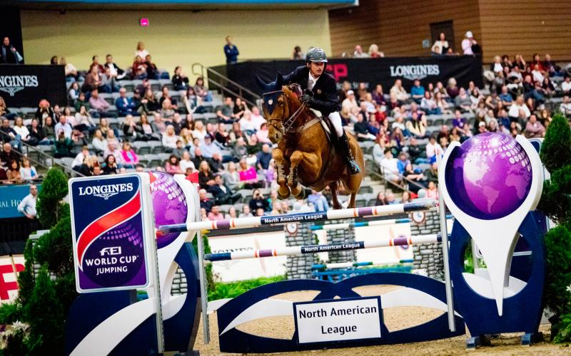 Longines FEI World Cup North American League - Lexington; Jumping; 2017