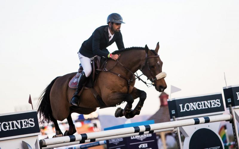 Longines FEI World Cup North American League; Thermal; California; Horse Jumping