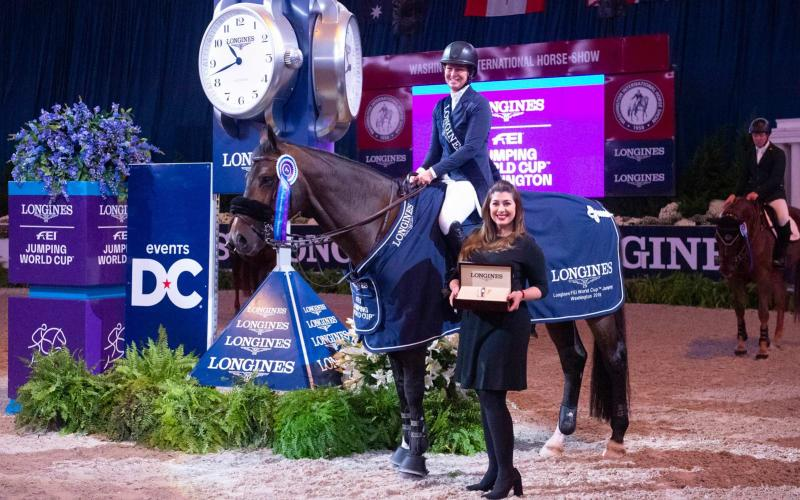 Longines FEI World Cup North American League; Washington; Jumping; 2018