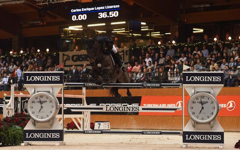 Longines FEI World Cup Western European League - Casas Novas Winter Edition; Willy Twomey; Jumping; December; 2016