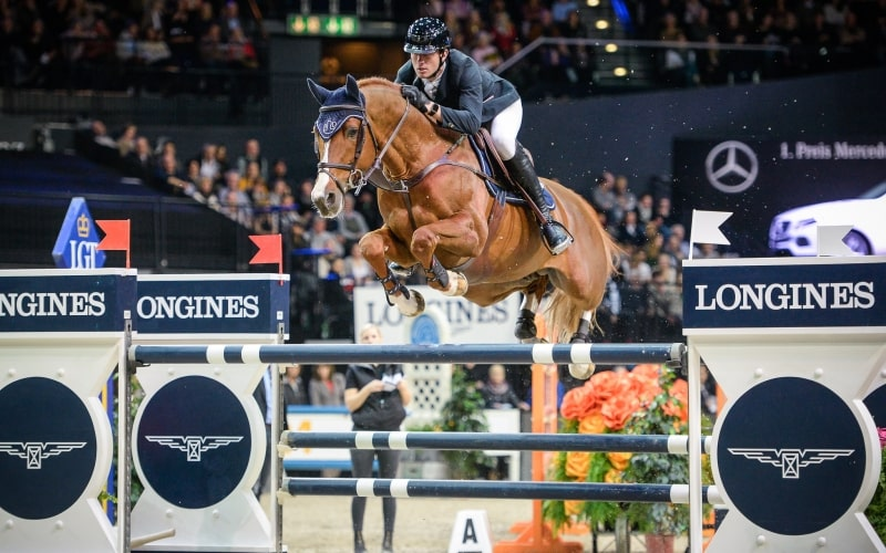 Victory for Gregory Wathelet (BEL) at the Longines Grand Prix of the Mercedes-Benz CSI Zurich