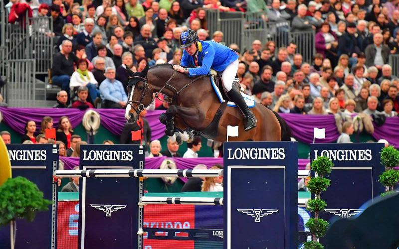 Longines FEI World Cup Western European League; Leipzig