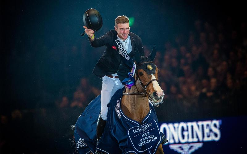 Longines FEI World Cup Western European League; London Olympia Horse show; 2018