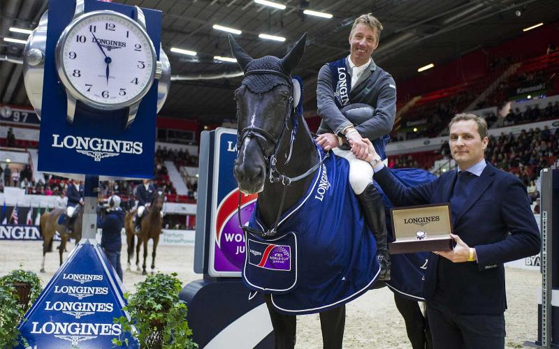 Dutch rider Jur Vrieling and VDL Glasgow v. Merelsnest earned first place at the second of the Longines FEI World CupTM Jumping in Helsinki