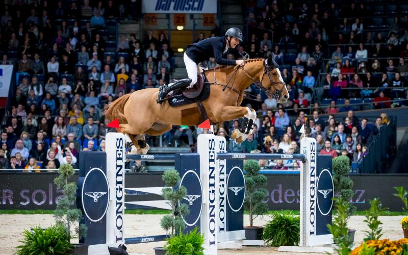 Pieter Devos and Apart claimed victory at the Longines FEI Jumping World Cup TM in Stuttgart