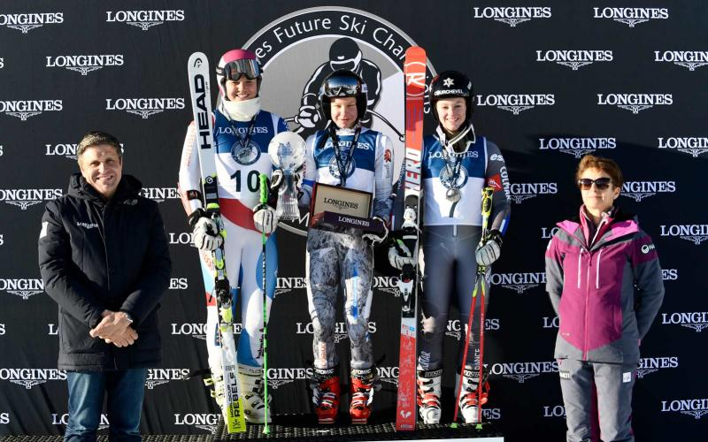 The best young female skiers gathered at the  FIS Alpine World Ski Championships St. Moritz 2017 for the Longines Future Ski Champions race