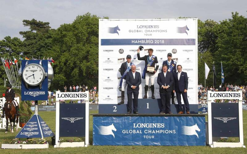 Jumping; Longines Global Champions Tour; Hamburg; Harrie Smolders