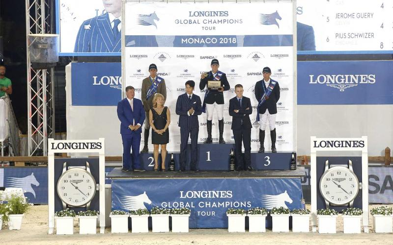 Longines Global Champions Tour; Monaco; 2018