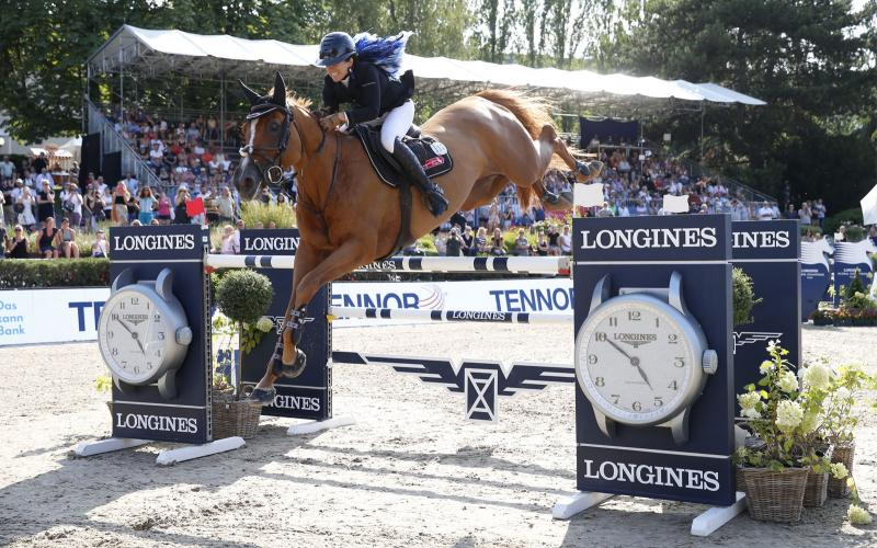 Longines Global Champions Tour von Berlin; Springreiten; 2019