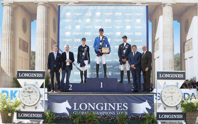 Longines Global Champions Tour of Berlin;; Christian Ahlmann; Codex One; Jumping; 2017