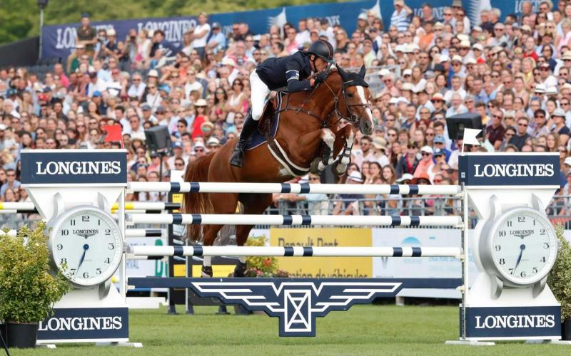 Chantilly hosted the 10th leg of the Longines Global Champions Tour