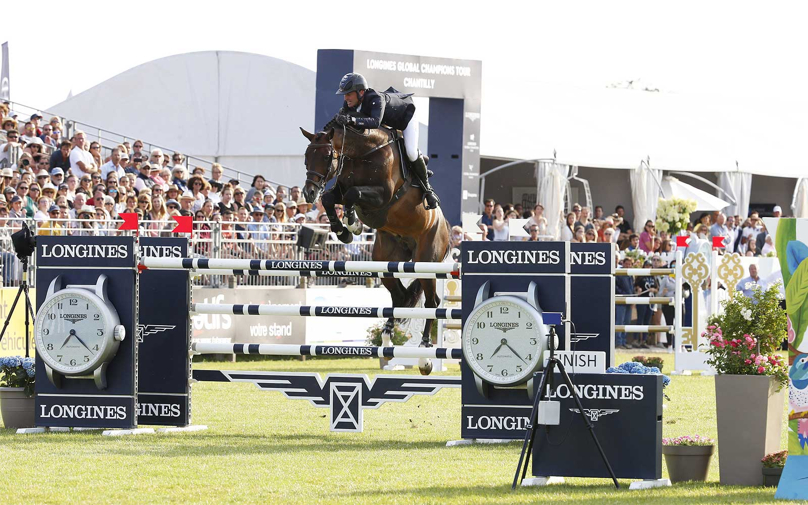 Longines Global Champions Tour von Chantilly; Springreiten; 2019