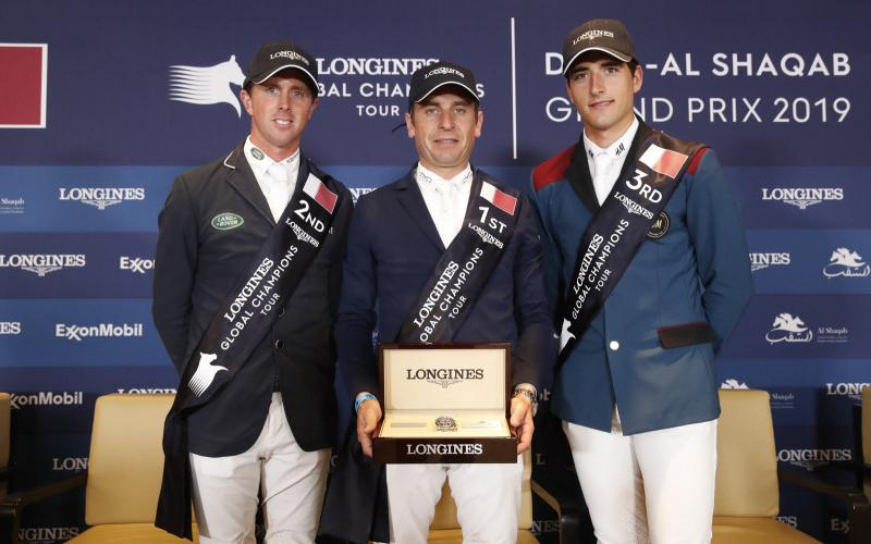Longines Global Champions Tour of Doha; Jumping; 2019