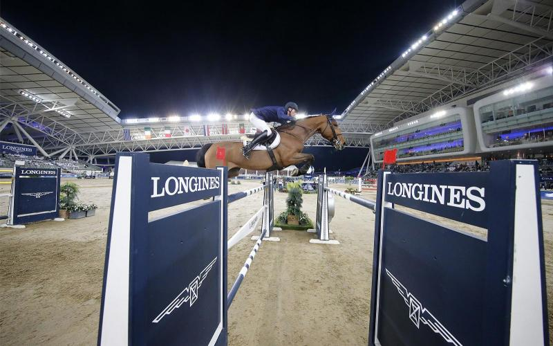 Longines Global Champions Tour di Doha; Jumping; 2020