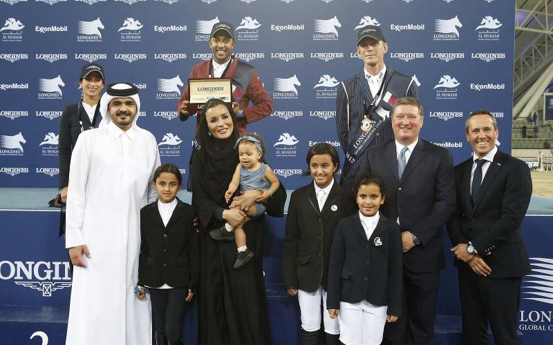 Qatari victory at the 2017 Longines Global Champions Tour in Doha
