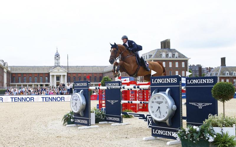 Longines Global Champions Tour of London; Springreiten; 2019