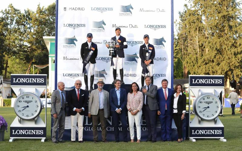 Longines Global Champions Tour; Jumping; Madrid; 2017