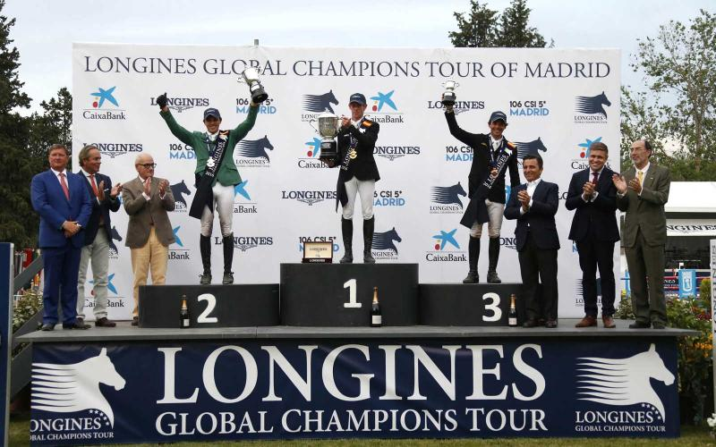 Longines Global Champions Tour of Madrid 2016;Jumping;2016,Marcus Ehning, Grand Prix, DolceVita,