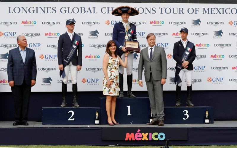 Longines Global Champions Tour; Mexico; first leg; André Agassi; April; 2017