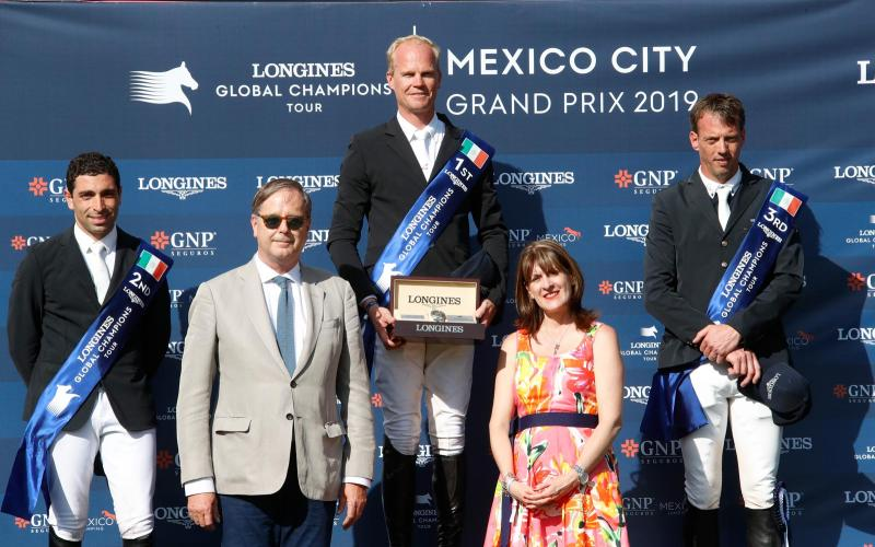 Longines Global Champions Tour de Mexico ; Saut d'obstacles ; 2019