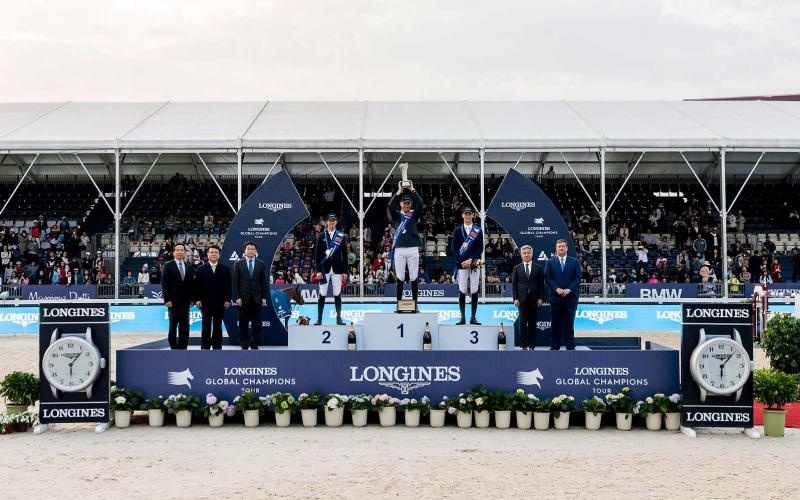 Longines Global Champions Tour; Shanghai