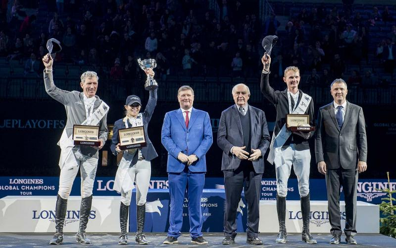 Fantastic victory of Edwina Tops-Alexander who becomes the Champion of the Longines Global Champions Tour Super Grand Prix