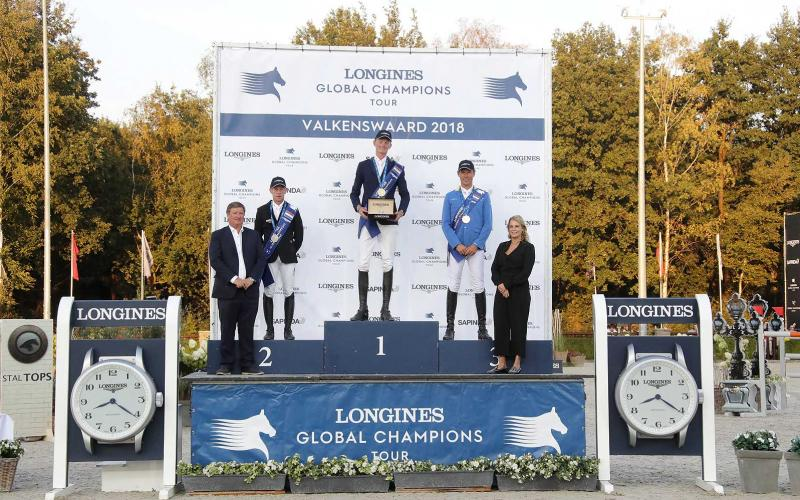 Frank Schuttert (NED) galloped to victory at the Longines Global Champions Tour Grand Prix of Valkenswaard