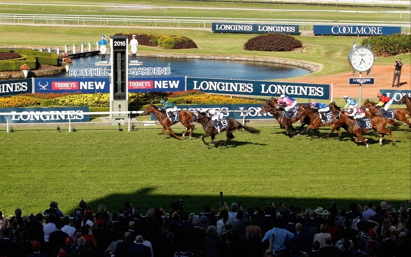 Victory for Blake Shinn on Capitalist at the 60th running of the Longines Golden Slipper