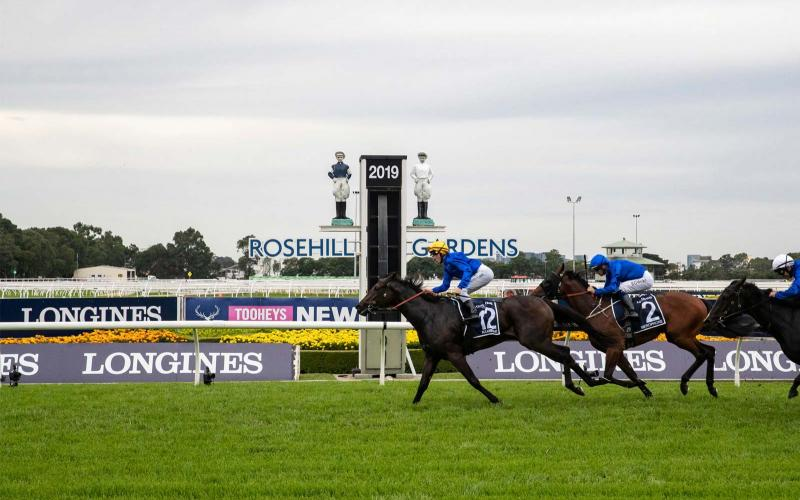Longines Golden Slipper Raceday; Longines Golden Slipper race