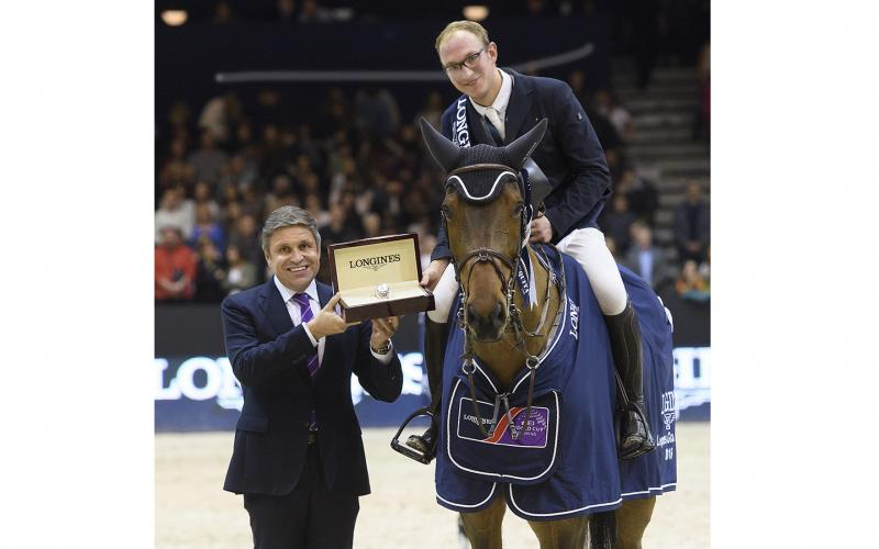 Germany's Tobias Meyer and Cathleen claimed the Longines Grand Prix at Equita' Lyon