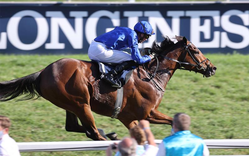Longines times Barney Roy's victory in the 2020 Longines Grosser Preis von Baden