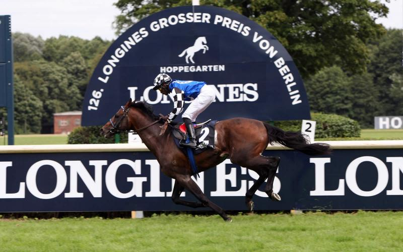 The Longines Positioning System used for the first time in Europe for the Longines Grosser Preis von Berlin