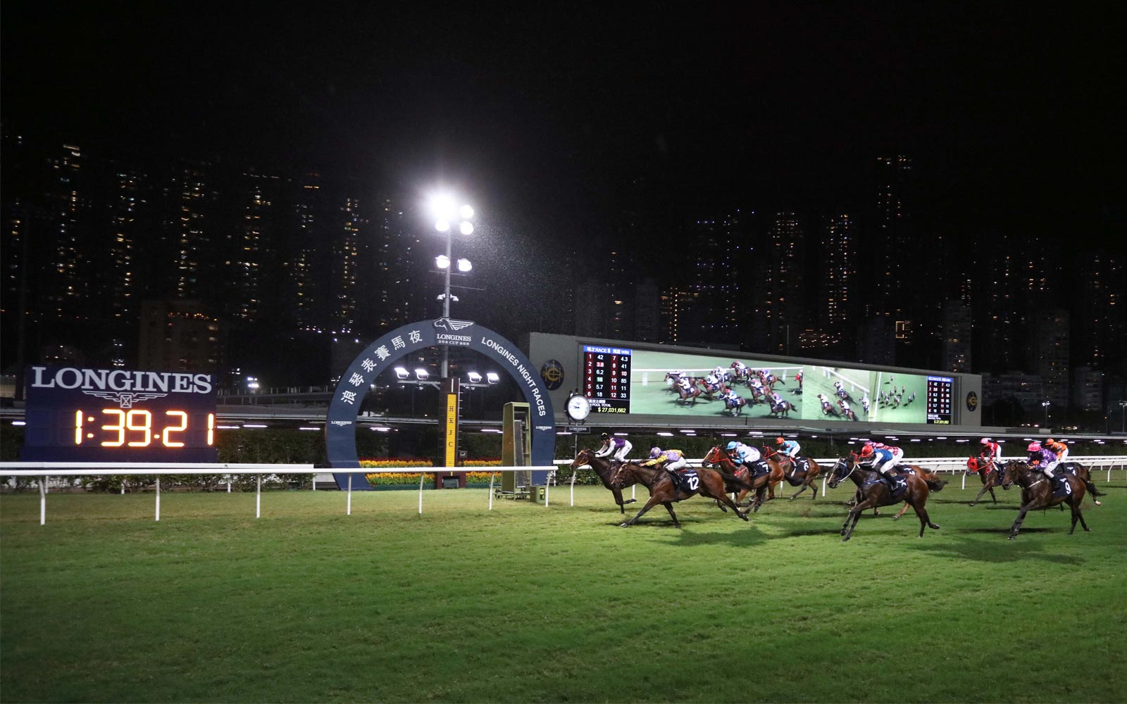 Longines HKIR Prelude Race Night; 2020