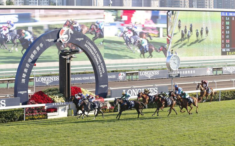 Longines Hong Kong International Races ; Course hippique ; 2019
