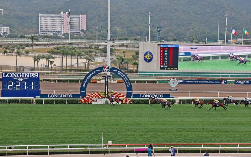 Die LONGINES Hong Kong International Races 2020; Hong Kong SAR; Pferderennsport; 2020