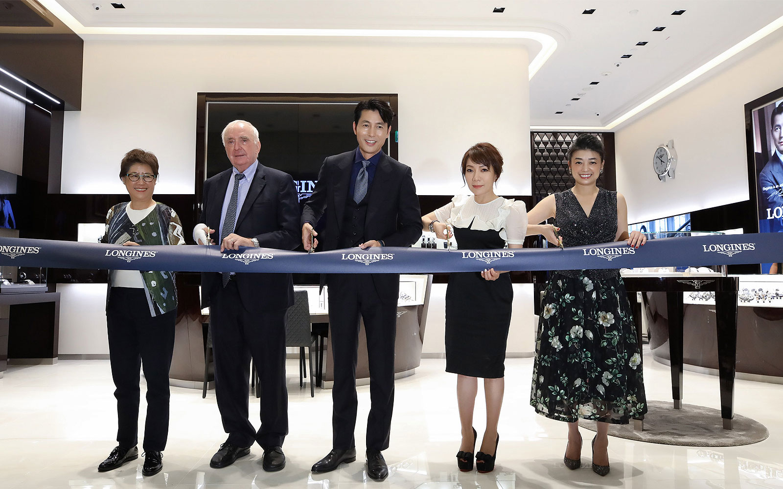 Inauguration Longines ; Nouvelle boutique ; Taipei ; 2019