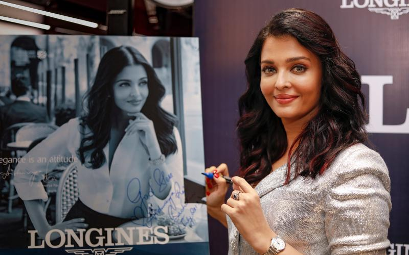 Longines inaugurates its new boutique in VR Chennai with its Ambassador of Elegance Aishwarya Rai Bachchan