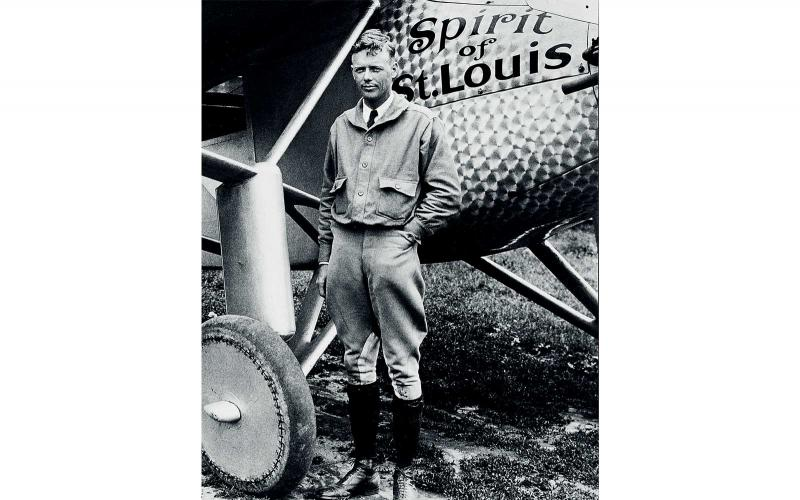 Charles Lindbergh; New York; on May 20, 1927; 90 years ago