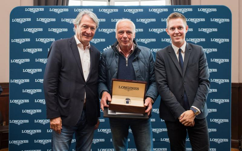 Longines is delighted to have honoured the winner of the photo competition la 25ème heure Longines