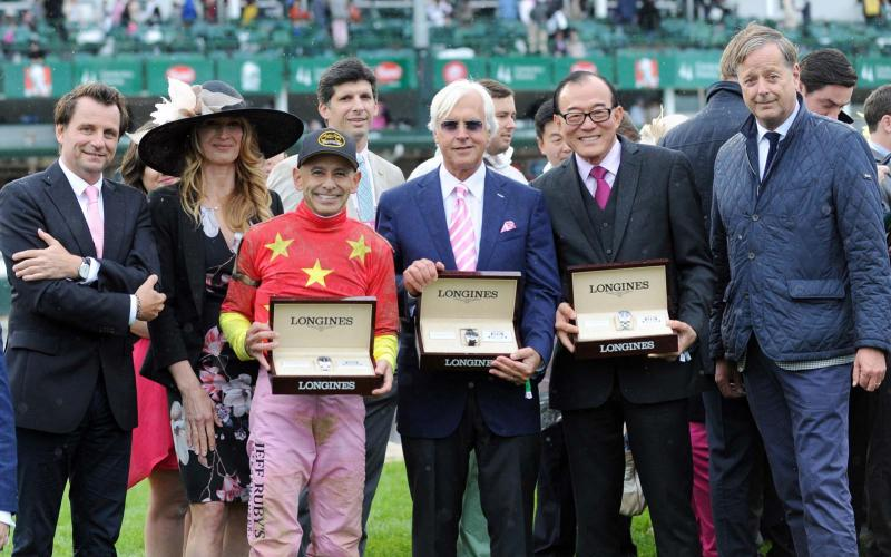 Longines Kentucky Oaks & Kentucky Derby, Churchill Distaff Turf Mile presented by Longines; Horse Racing; Louisville; 2017