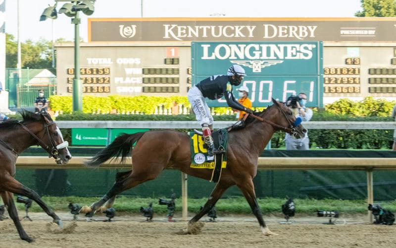Authentic galloped to victory in the 146th Kentucky Derby