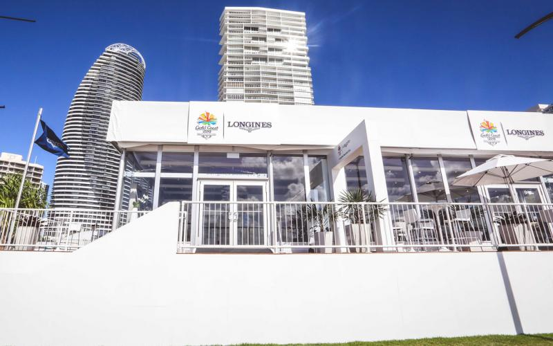 Longines Boutique on Broadbeach;Commonwealth Games, 2018