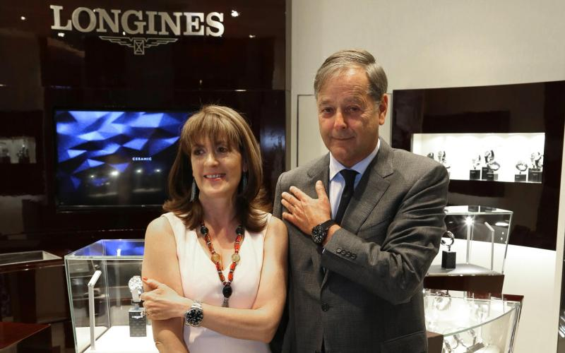 Longines launches the new all-ceramic version broadening Longines' HydroConquest in Mexico City