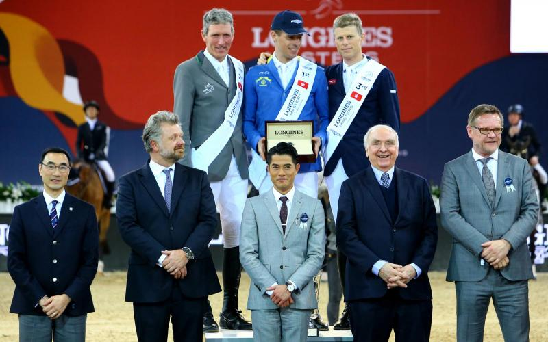 The Longines Masters ended in Hong Kong with a tremendous final stage
