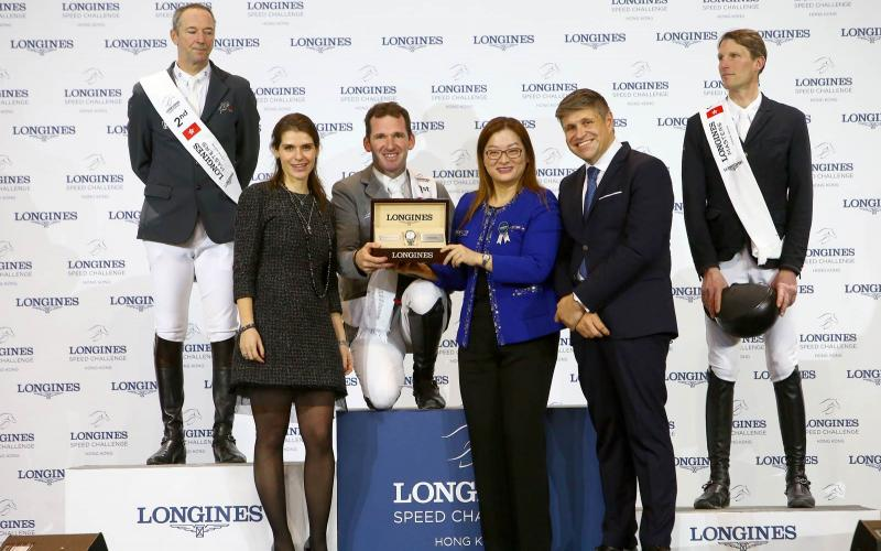 The Longines Speed Challenge: The world's fastest trial claimed by German rider Philipp Weishaupt