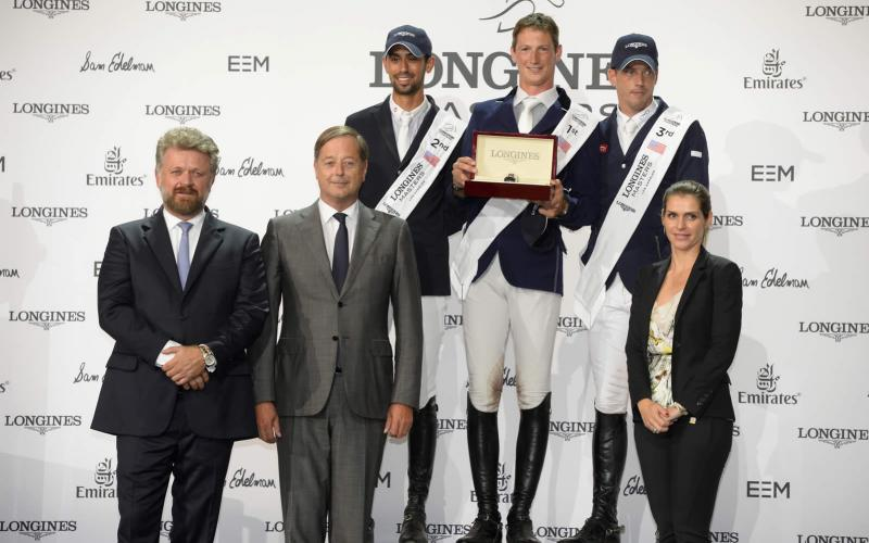 World-class sport, emotions and refinement at the Longines Masters of Los Angeles